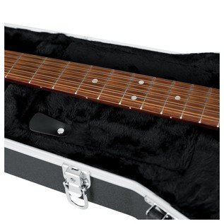 Gator GC-DREAD-12 Deluxe Moulded 12-String Dreadnought Guitar Case, Neck Support