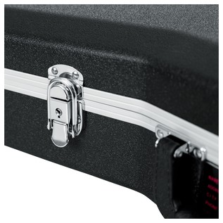 Gator GC-DREAD-12 Deluxe Moulded 12-String Dreadnought Guitar Case, Locking Latch