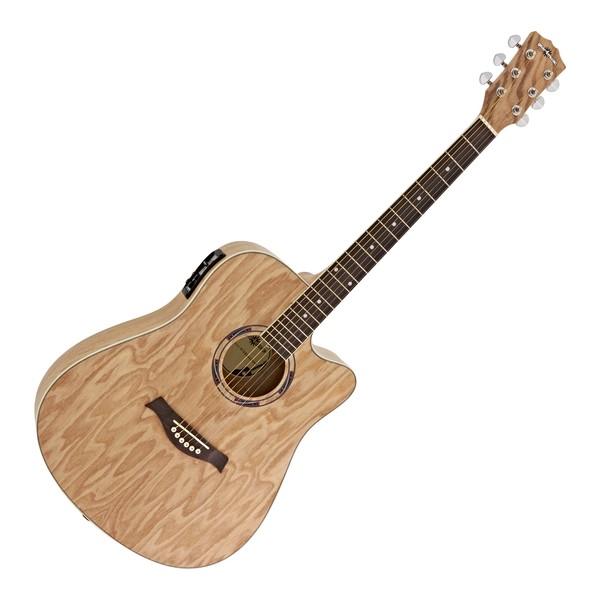 Deluxe Electro Acoustic Busker Guitar w/ Drum Machine