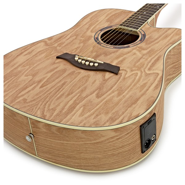 deluxe electro acoustic busker guitar w drum machine at gear4music. Black Bedroom Furniture Sets. Home Design Ideas