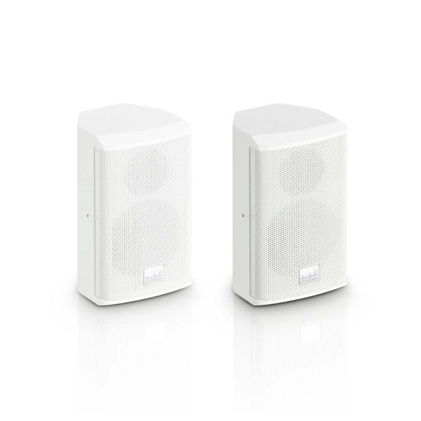 LD Systems SAT42 4'' Passive Installation Speaker Pair, White