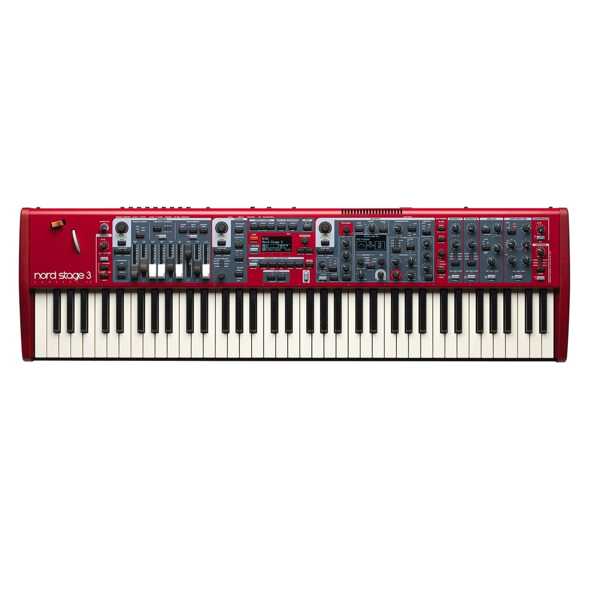 nord stage 3 compact digital piano box opened at gear4music. Black Bedroom Furniture Sets. Home Design Ideas