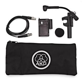 AKG C518 ML Clip On Miniature Condenser Mic with Mini XLR