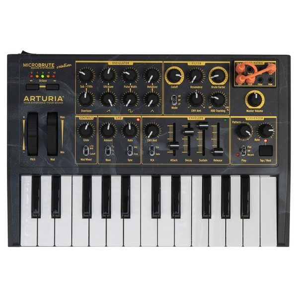Arturia Microbrute Creation Edition - Top