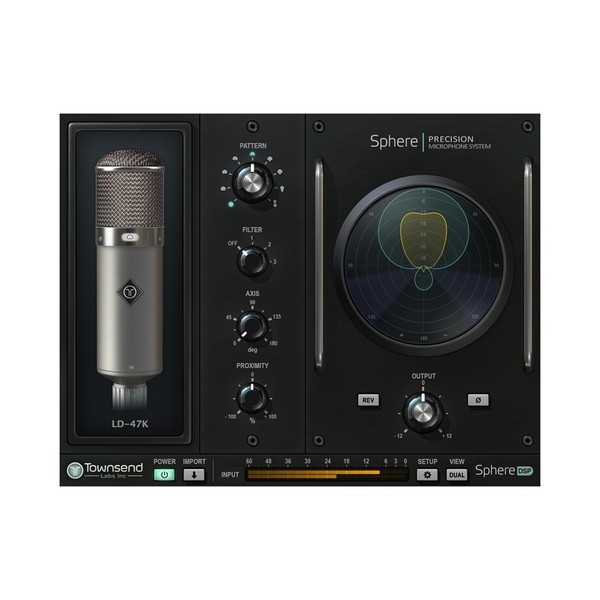 Townsend Labs Sphere L22 - Plug-in Mic Choice