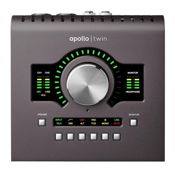 Universal Audio Apollo Twin Duo MkII, Thunderbolt - Top