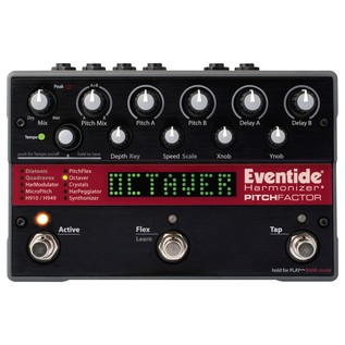 PitchFactor Harmonizer Effects Pedal - Top