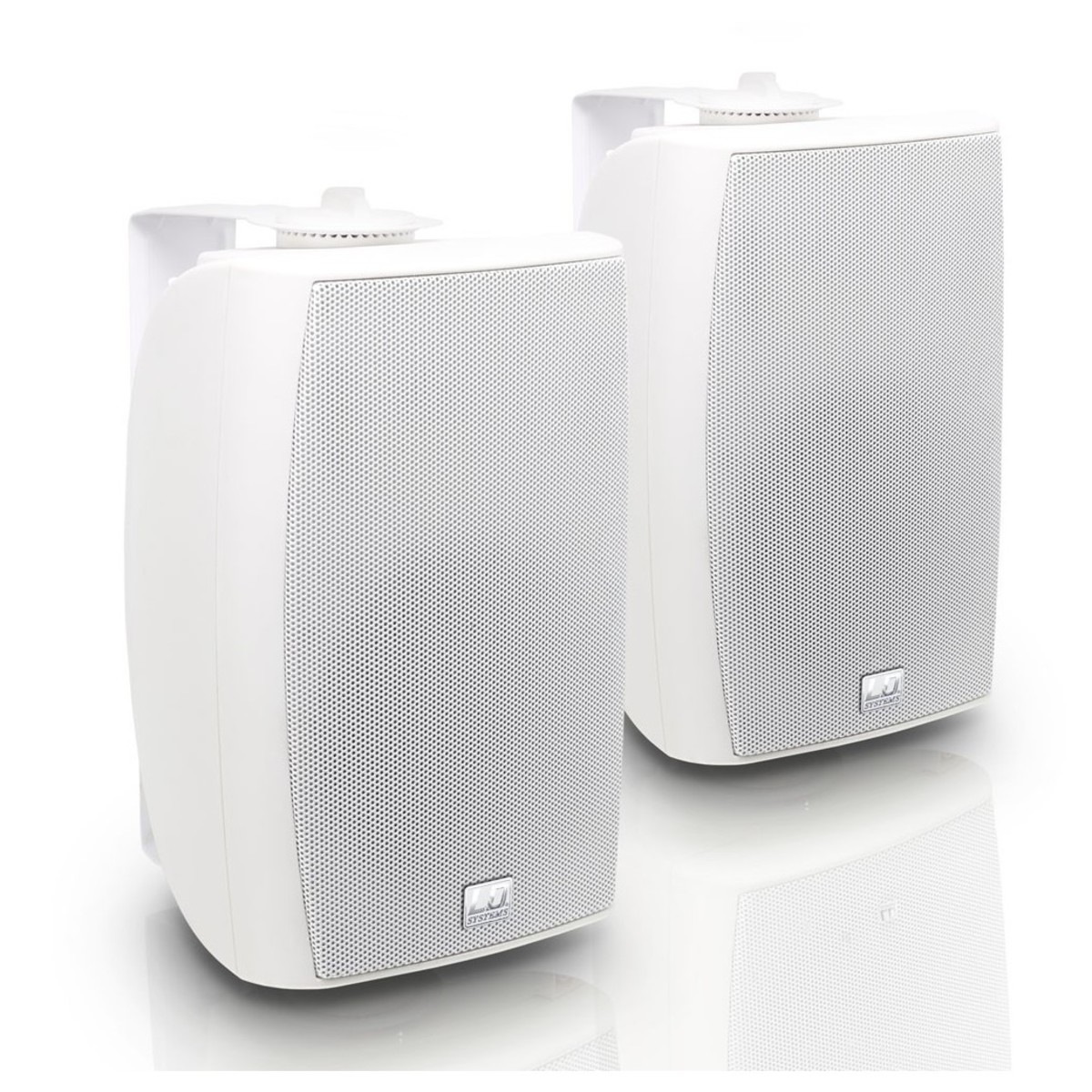 Ld Systems Contractor Cwms52b Wall Mount Speaker Pair White