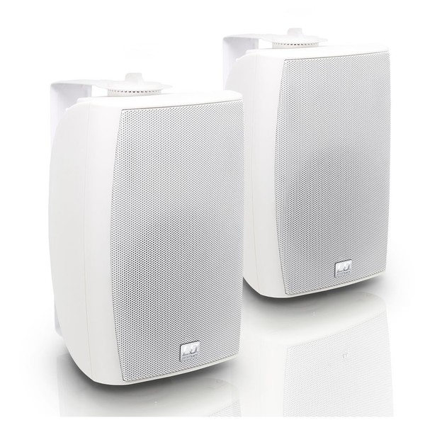 LD Systems Contractor CWMS52B Wall Mount Speaker Pair, White