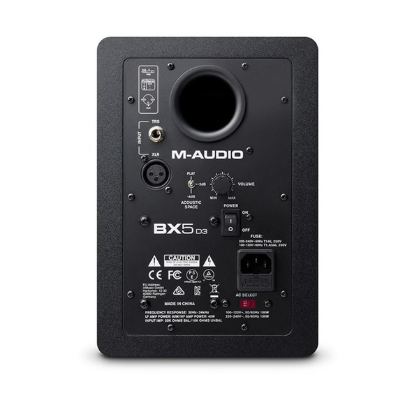 BX5-D3 Studio Monitor - Rear
