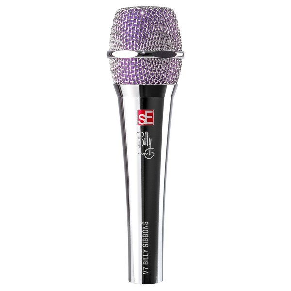 sE Electronics V7 Microphone Billy Gibbons Signature Edition - Front