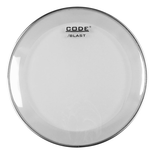 "CODE 20"" Blast Clear Bass Drum Batter Head - Main Image"