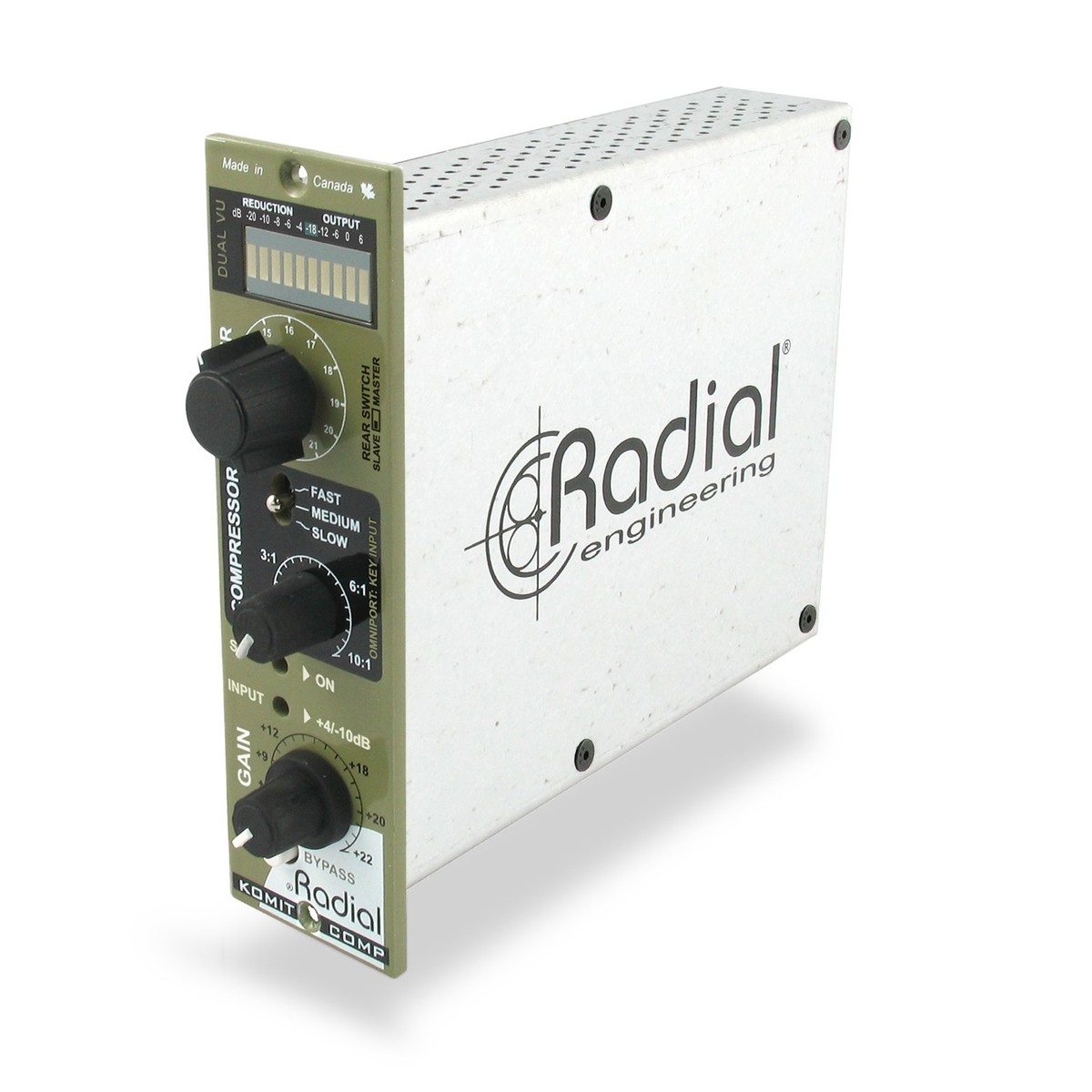 Radial Workhorse Komit 500 Compressor-Limiter