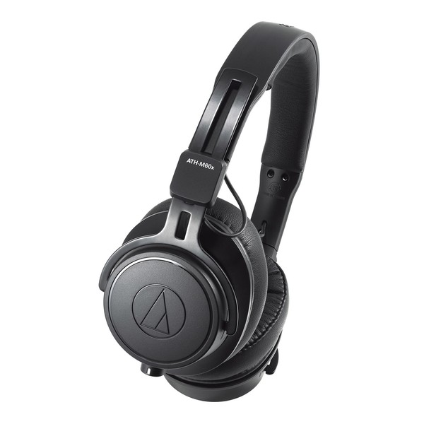 Audio Technica ATH-M60x Professional Monitor Headphones, Black
