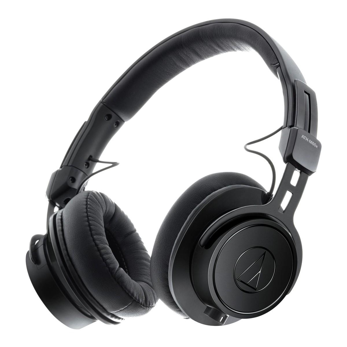Shop now | Audio Technica ATH-M60x Professional Monitor Headphones, Black