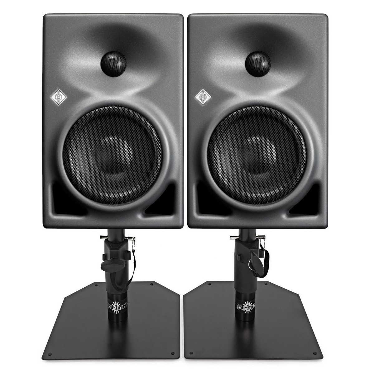 Click to view product details and reviews for Neumann Kh120a Active Studio Monitor Pair With Monitor Stands.