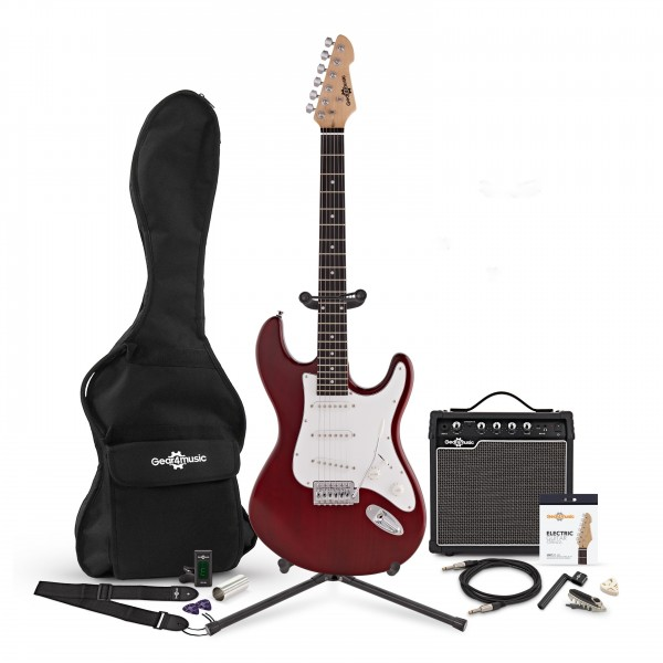 LA Electric Guitar + Complete Pack, Red