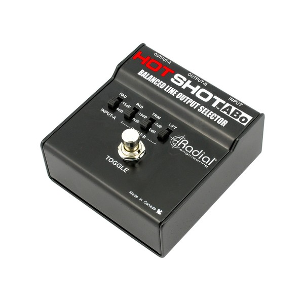 Radial HotShot ABo Footswitch Output Selector