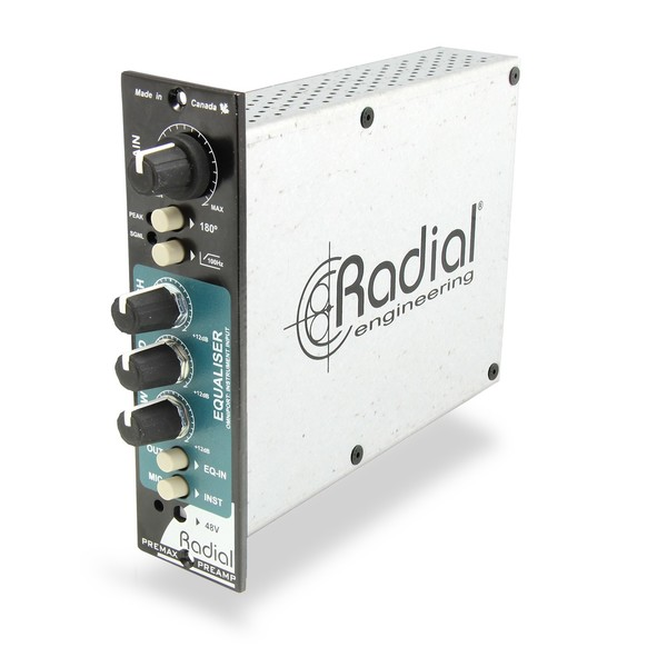 Radial Workhorse PreMax Channel Strip, Front Angled