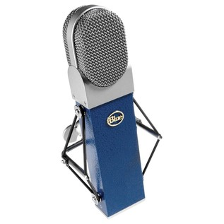 Blue Blueberry Cardioid Condenser Microphone - Angled