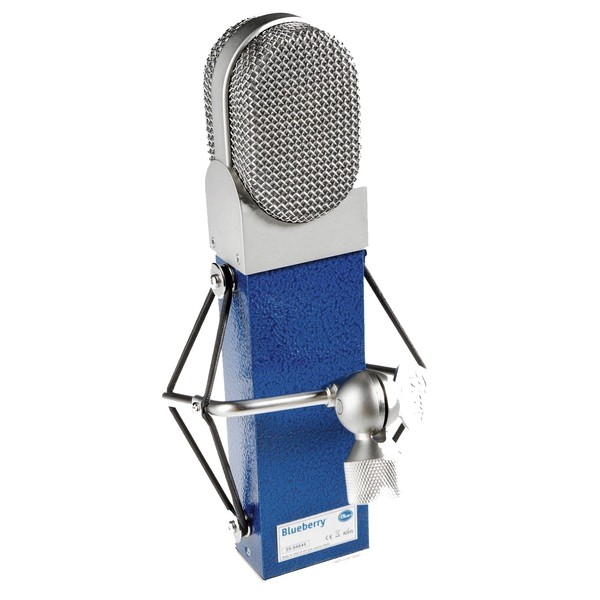 Blueberry Microphone - Rear