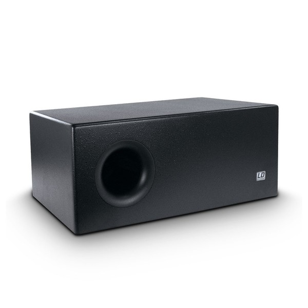 LD Systems 2 x 8'' Passive Installation Subwoofer, Black