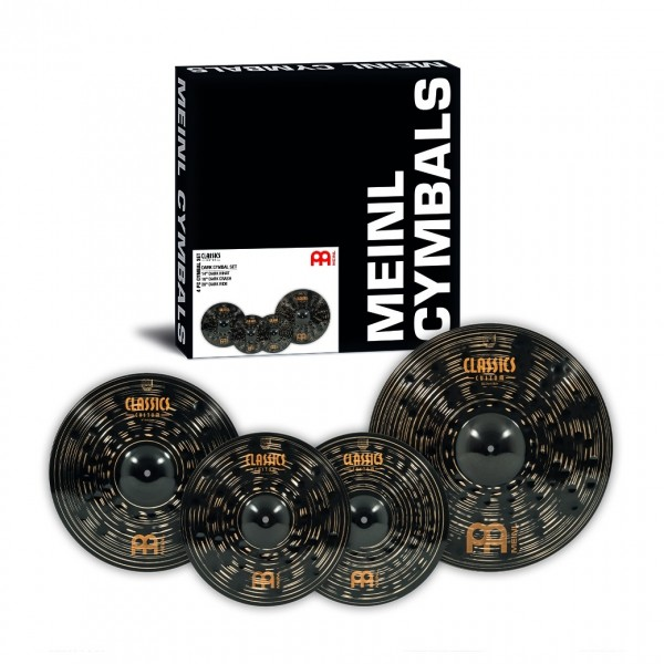 Meinl Classics Custom 14/16/20 Dark Cymbal Set cymbals