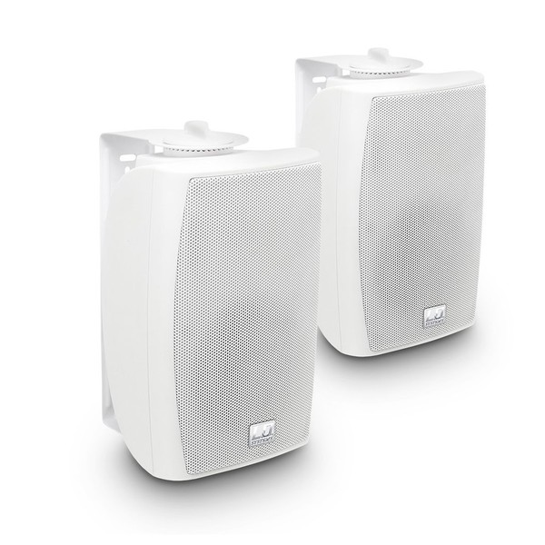 LD Systems Contractor 4'' Wall Mount Speaker Pair, White