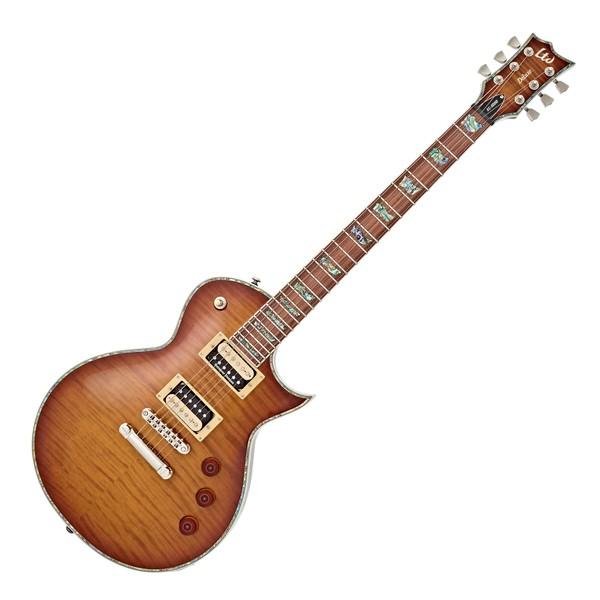 ESP LTD EC-1000FM Guitar, Amber Sunburst