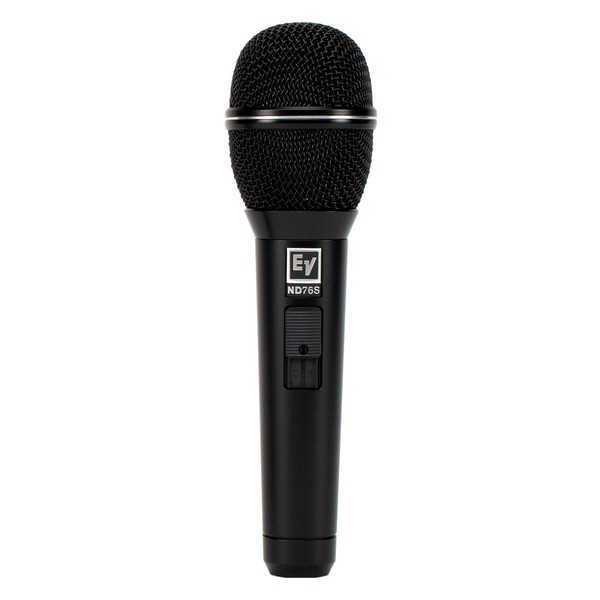 Electro-Voice ND76S Dynamic Cardioid Vocal Microphone With Switch