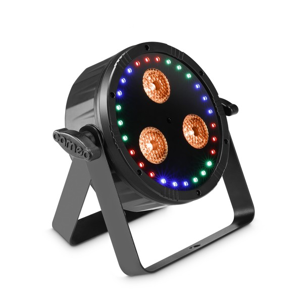 Cameo Flat Star 2 in 1 Flat Par Light and LED Ring