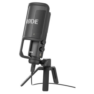 NT-USB Condenser Microphone - With Shock Mount