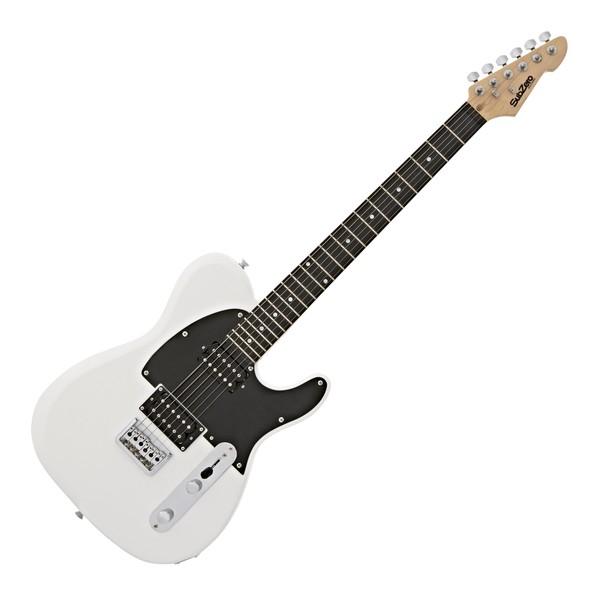 SubZero Paradigm Electric Guitar, All White