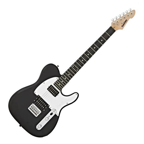 SubZero Paradigm Electric Guitar, All Black