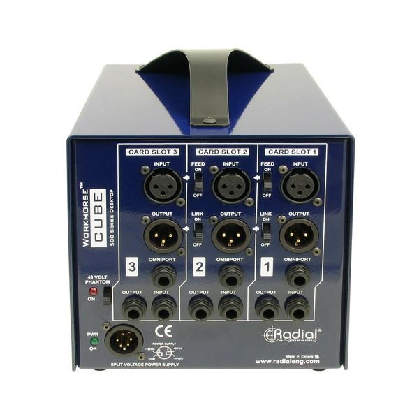 Radial Workhorse Cube 500 Series Power Rack, Rear