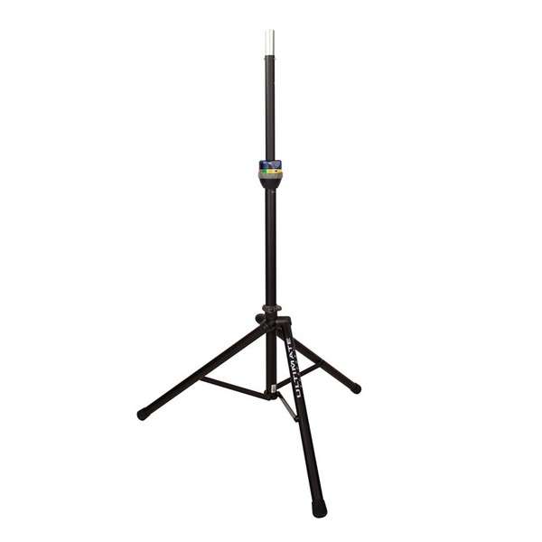 Ultimate Support TS-90B TeleLock Speaker Stand, Full Stand
