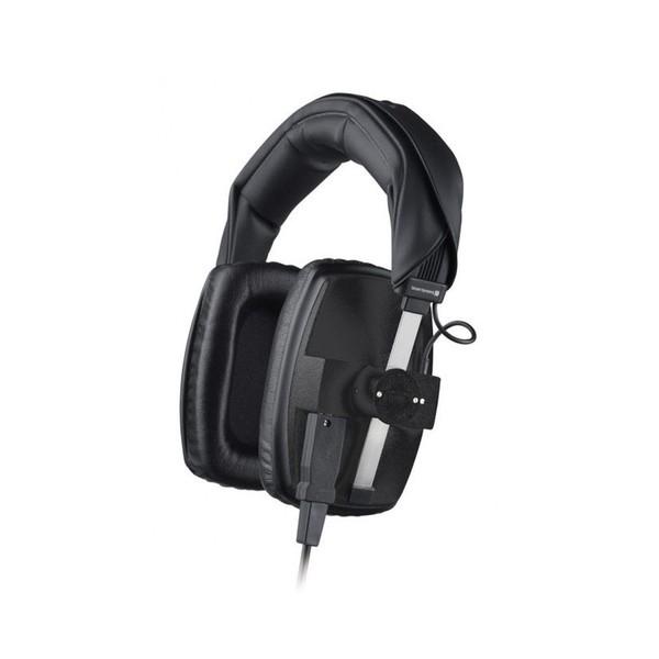 Beyerdynamic DT 100 Headphones, 16 ohm, Black, Front Angled