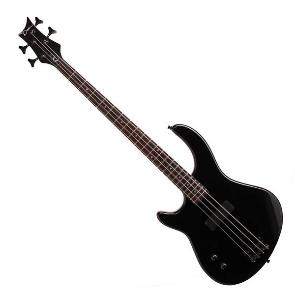 Dean Edge 09 Left Handed Bass Guitar, Classic Black