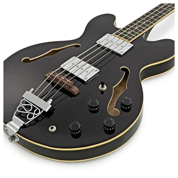 RedSub HB Bass Guitar, Jet Black
