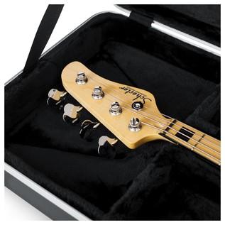 Gator GC-BASS Deluxe Bass Guitar Case, Interior Close-Up