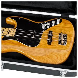 Gator GC-BASS Deluxe Bass Guitar Case, Interior