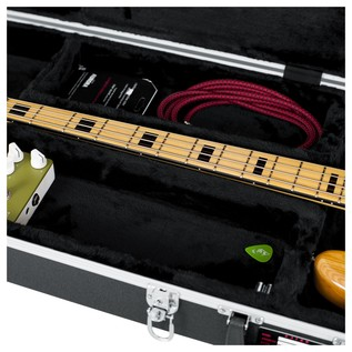 Gator GC-BASS Deluxe Bass Guitar Case, Storage Compartment