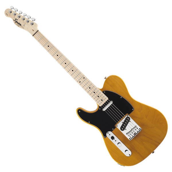 Squier by Fender Affinity Tele Left Hand Guitar, Butterscotch Blonde