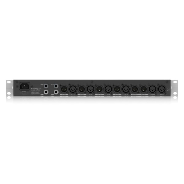 Behringer MX882 V2 Ultralink Pro 8-Channel Splitter Mixer, Rear