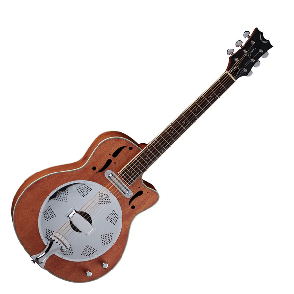 Dean Resonator Cutaway Guitar, Natural