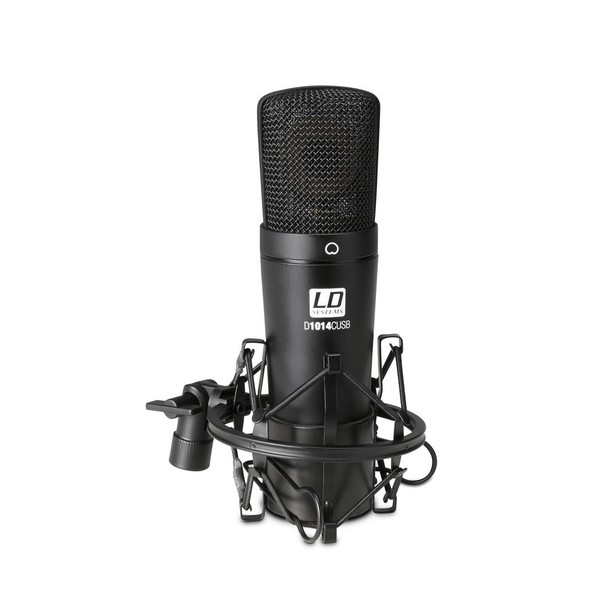 LD Systems D1014C USB Condenser Microphone Mounted