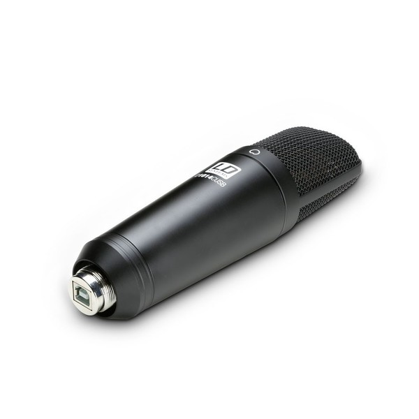 LD Systems D1014C USB Condenser Microphone Tilted
