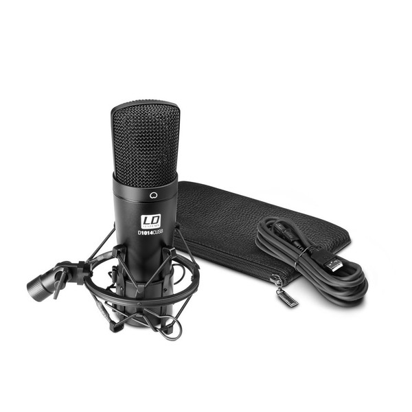 LD Systems D1014C USB Condenser Microphone