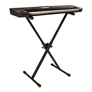 Quiklok BS-619 Collapsible X Stand with Keyboard