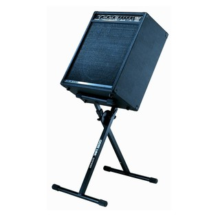 Quiklok BS-619 Collapsible X Stand with Guitar Cabinet